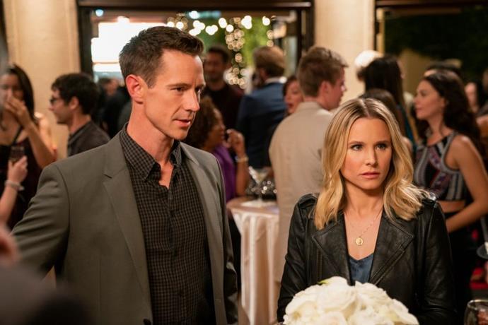 Jason Dohring and Kristen Bell in *Veronica Mars*.