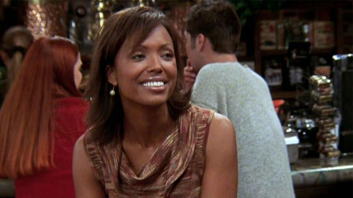 Aisha played Charlie, a paleontology professor who first dates Joey (Matt LeBlanc) and then Ross.