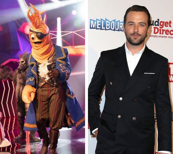 The Prawn has been unveiled as TV host and actor **Darren McMullen**!