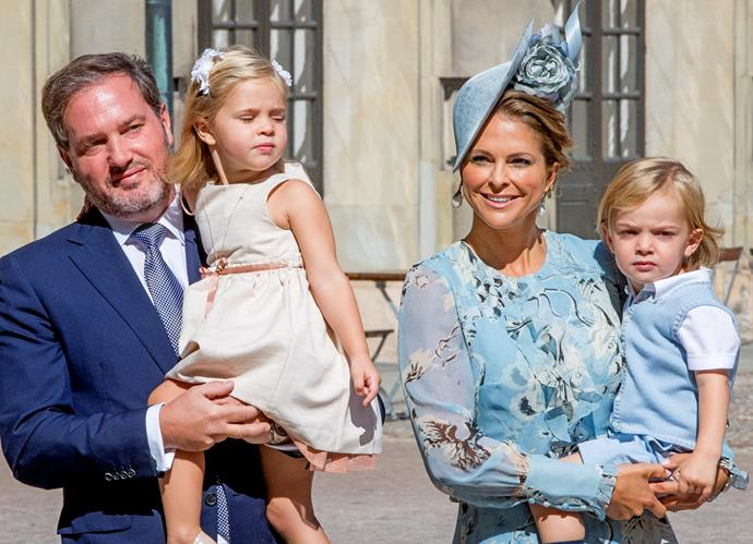 The children of Princess Madeleine and Prince Carl Philip will lose their official HRH titles.