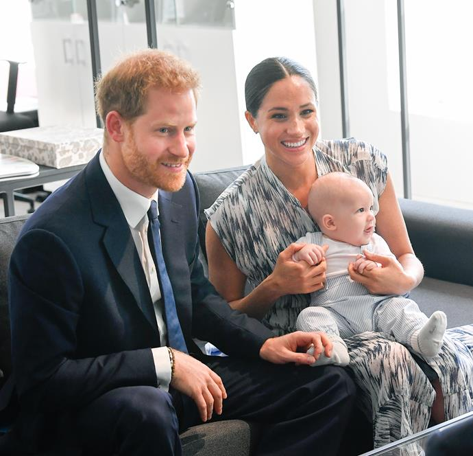 The move is not an uncommon choice for royals - Meghan and Harry chose to forgo giving Archie an official royal title.