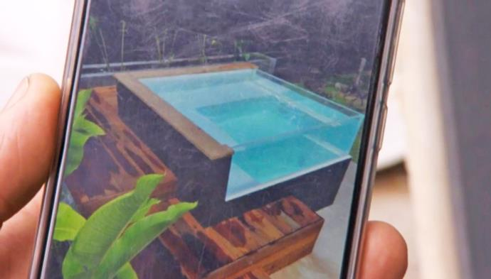 The Pool that caused a bunch of Block drama.