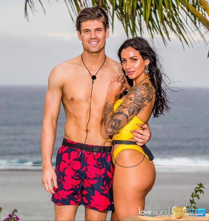 A few of the guys had their eye on Vanessa but it's Matt who she chose to partner up with.