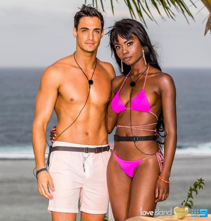 A DJ and a model? Sam and Cynthia's partnership is a tale as old as *Love Island* time.