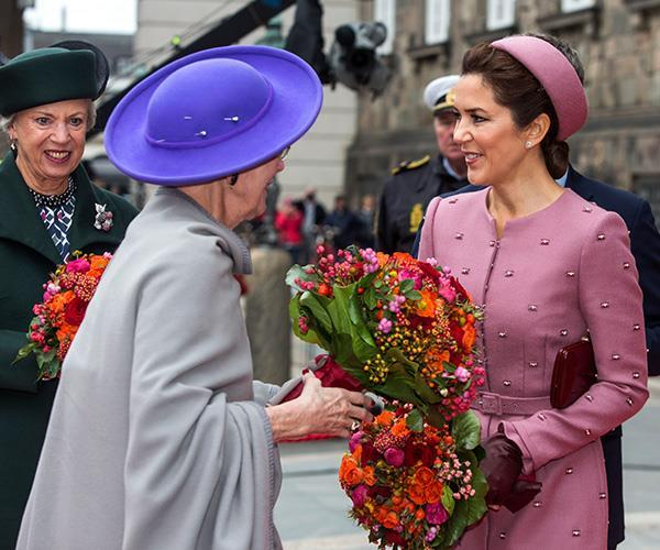 The regal Princess channelled Jackie Kennedy in the best way possible as she attended an engagement in Copenhagen in October.