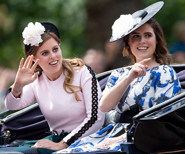 """Princess Eugenie says that her sister is """"far more polite and solicitous"""" than her."""
