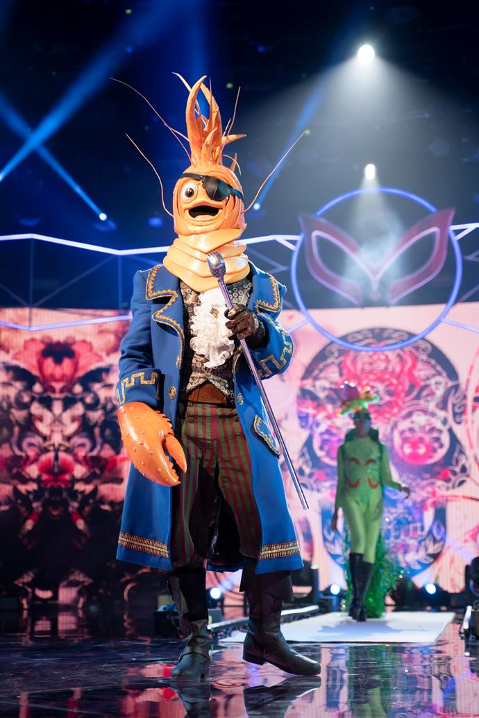 The Prawn was known for his swagger on *The Masked Singer.*
