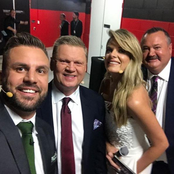 "Beau says it's ""so unfair"" that Erin copped criticism over The Footy Show's cancellation."