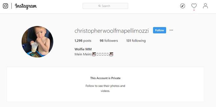 98 followers already? He's a mini influencer!