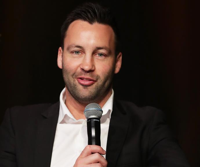 Jimmy Bartel speaks on a panel during a Greater Western Sydney Giants media opportunity at The Star on September 25, 2019 in Sydney, Australia. (Photo by Matt King/Getty Images)