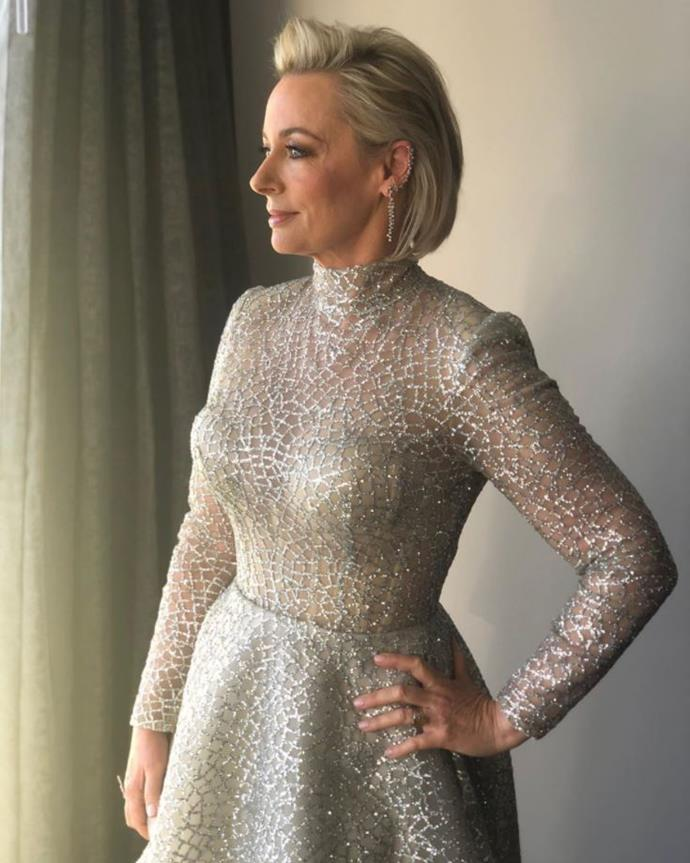 Amanda was nominated for a TV WEEK Gold Logie Award this year.
