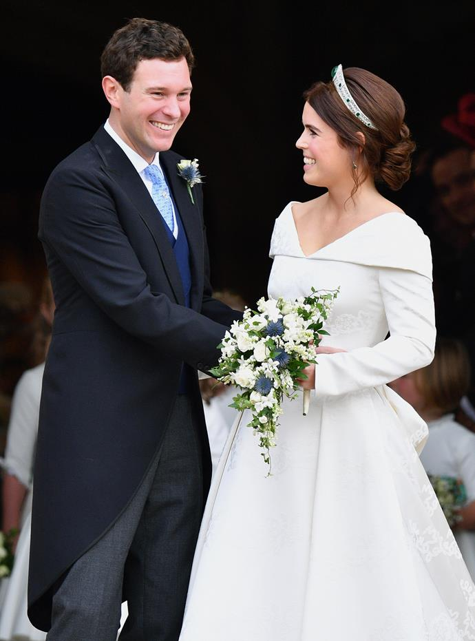 The clip gave us a sneak peek into the home of Princess Eugenie and Jack Brooksbank.