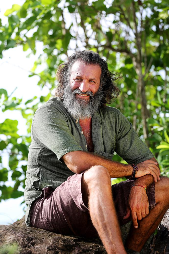 "**Mark ""Tarzan"" Herlaar (Season 2)** <br><br> Tarzan returns! After becoming the fourth person voted out, Tarzan is back for another shot at the jungle."