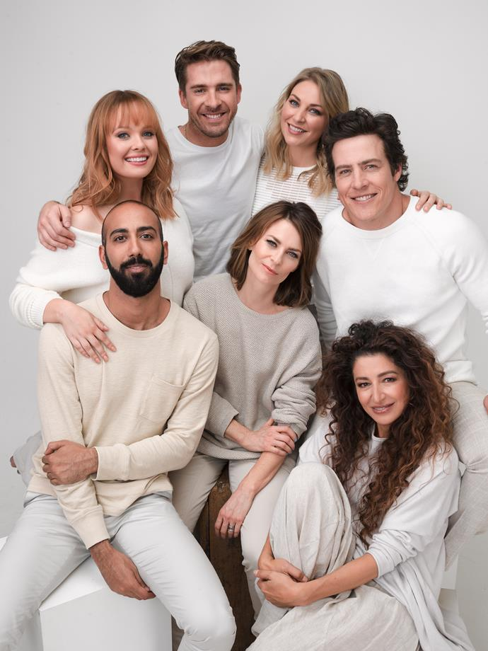 The cast of Five Bedrooms.