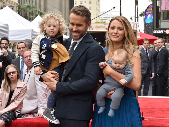 The couple are already parents to James, four and Ines, three.