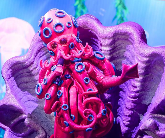 Gretel Killeen as the octopus.