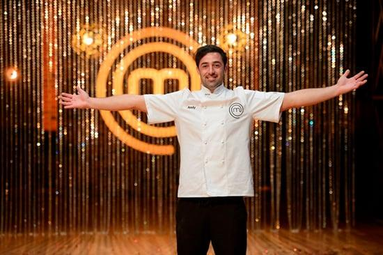 Andy won season four of MasterChef Australia.