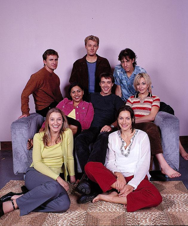 The cast of *The Secret Life Of Us.*
