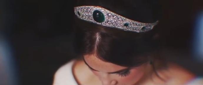 The gorgeous tiara worn by Princess Eugenie was royally perfect.