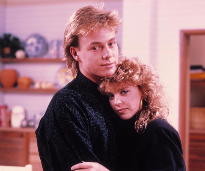 Kylie and Jason kickstarted their careers on Neighbours.
