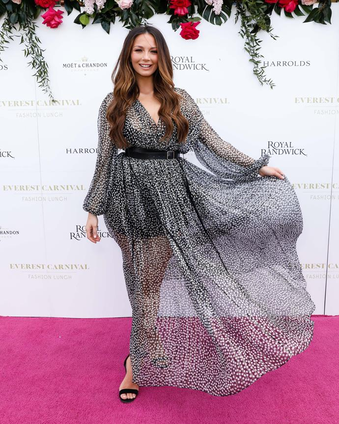 Ricki-Lee pictured at an event in October 2019.