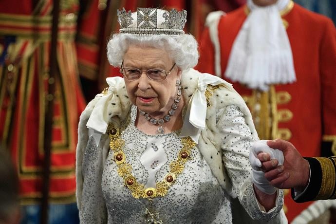 The Queen's choice in tiara caused a bit of confusion.