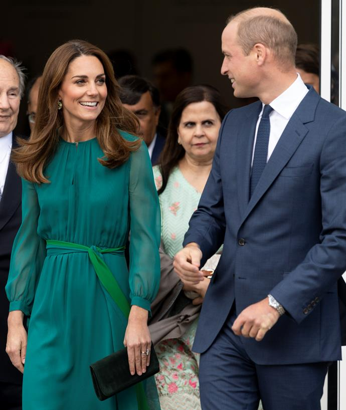 Kate paid tribute to Pakistan by wearing beautiful shades of green earlier this month.