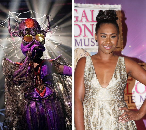 The Spider has been unveiled as Aussie singer and musical star **Paulini**!