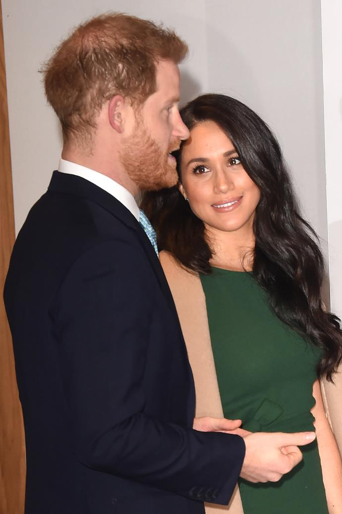 Meghan and Harry looked to be having a memorable time during the event.