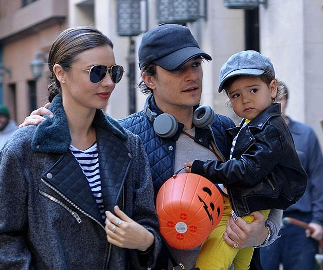 Miranda and Orlando happily co-parent their son together, Flynn.
