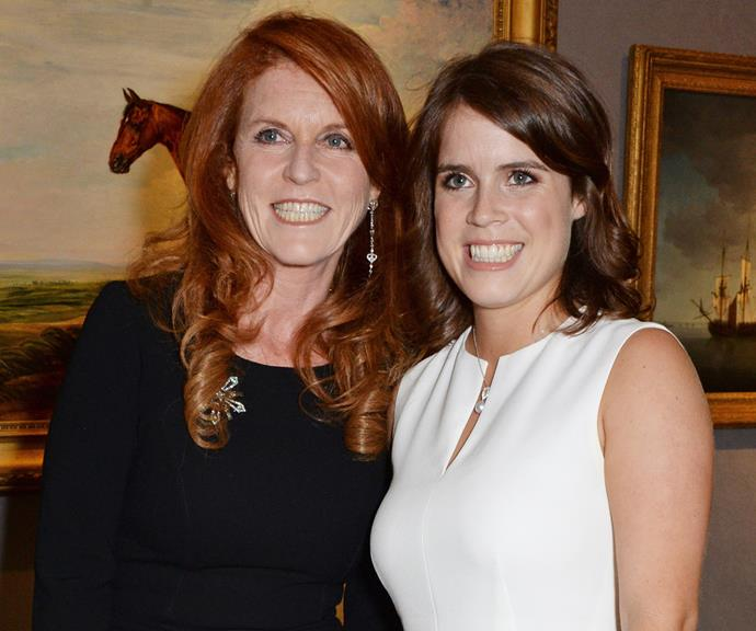 Sarah and Eugenie are always by each other's side.
