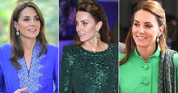 Kate Middleton's Pakistan fashion: All the pics from her fashionable royal tour | Australian Women's Weekly