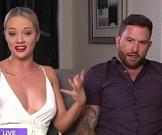 **Jessika Power and Dan Webb** <br><br> The most spectacular break-up of the year goes to *Married At First Sight* stars Jessika Power and Dan Webb who infamously imploded during an episode of *Talking Married* in April. Looking back at Jessika's actions on *MAFS*, Dan was left unimpressed and they began fighting live on air. (WATCH IN PLAYER BELOW)