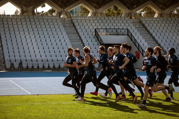 Pre-season training has begun for the Southern Jets.
