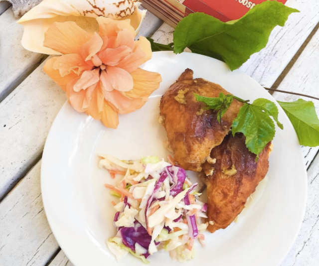 **Red Rooster:** Skip the fries and burgers and show your family that choosing fast food doesn't always have to be the same old thing. Go for a quarter chicken and some crunchy coleslaw instead and hit some of the nutrition targets for the day.