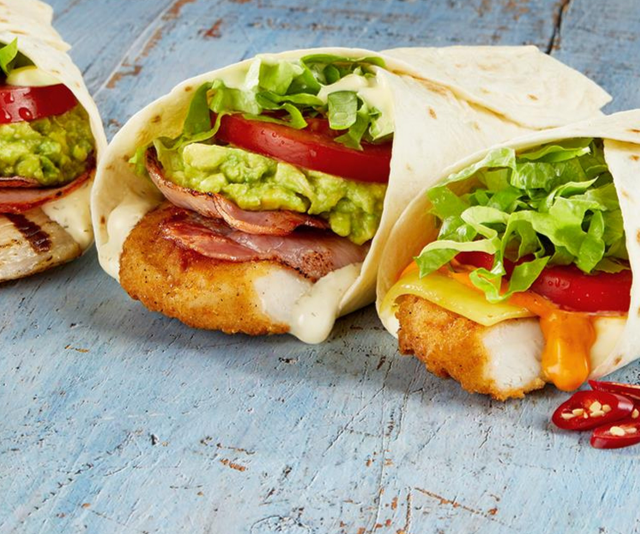 **Hungry Jacks:** Another road trip favourite. It's best for you (and your fellow travellers) if you skip the Whopper menu and opt for a toasted sandwich or one of the chicken wrap options, miss the bacon. Don't forget to swap the fizzy drink out for water too.