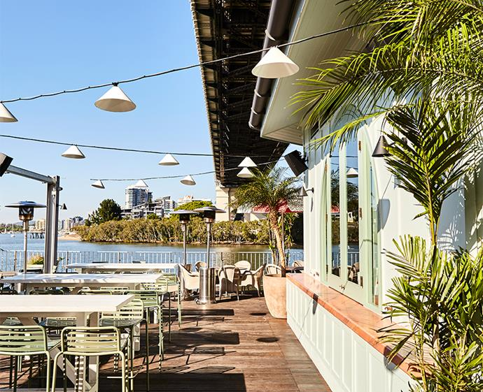 We loved the sun-soaked deck at Mr Percival's - perfect for our summer afternoons.