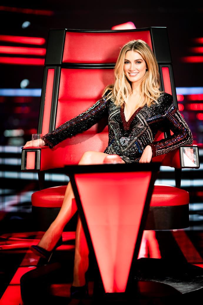 Delta Goodrem returns for another season of *The Voice Australia.*