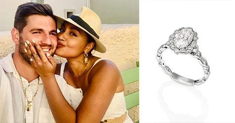 Jessica Mauboy's engagement ring designer reveals its sentimental meaning | Woman's Day