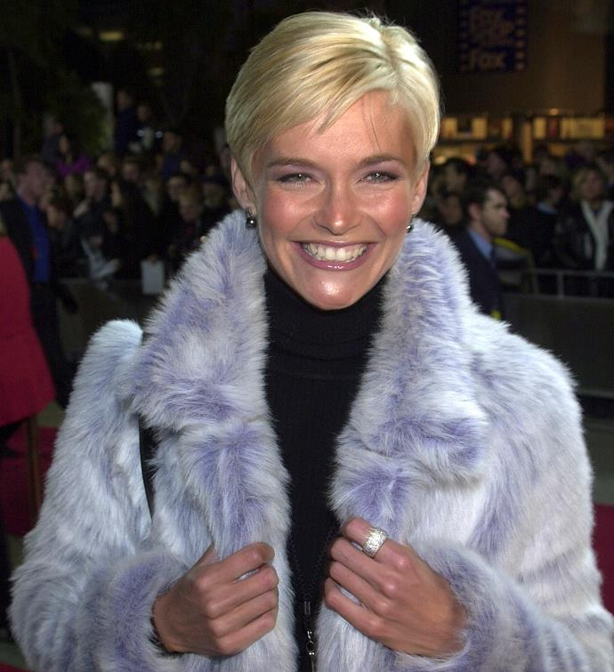 Jess pictured at a film premiere in 2000.