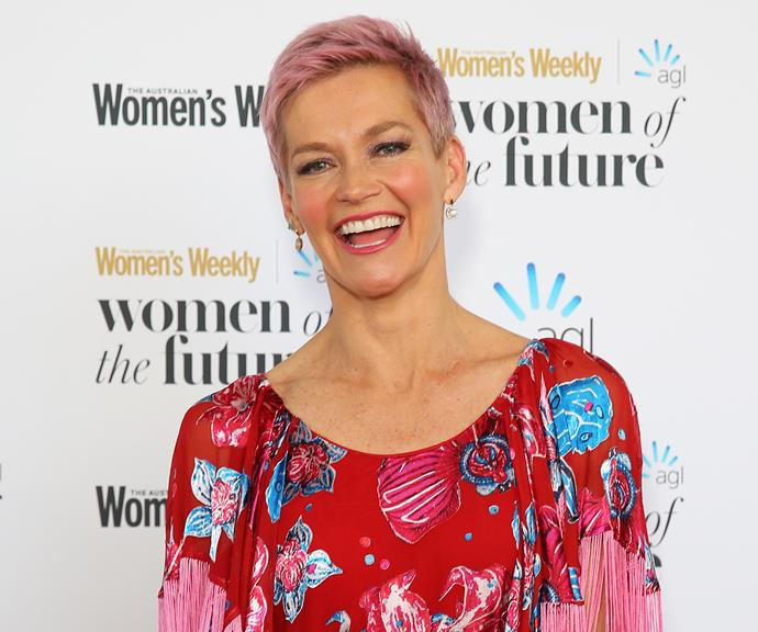 At The Australian Women's Weekly's 2019 Women of the Future Awards.