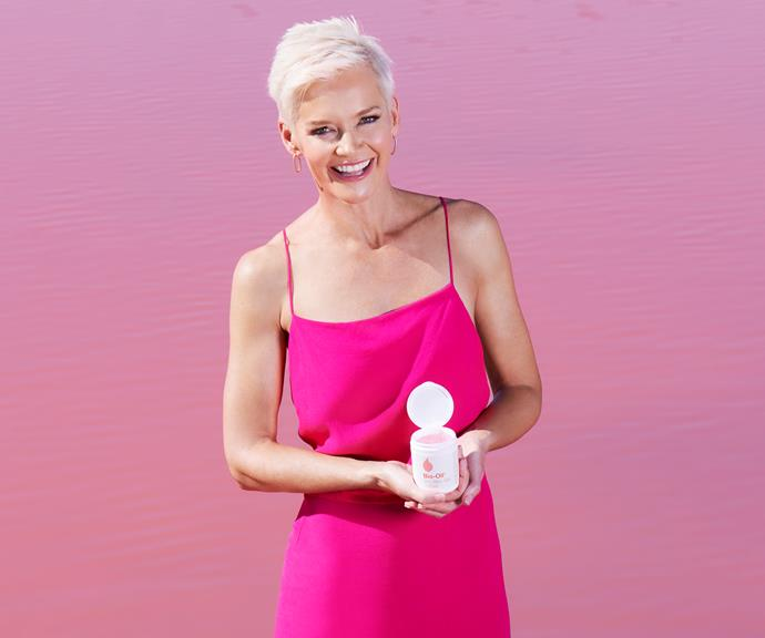 Jessica Rowe in the new campaign for Bio Oil's newest product, their Dry Skin Gel.