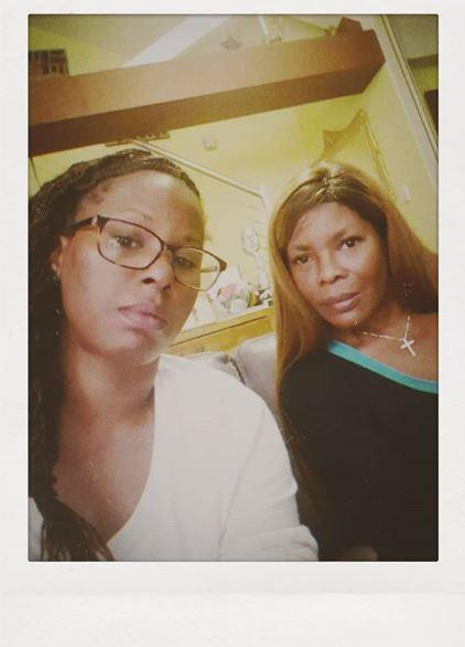Deni with her mum, Marcia, last year (Image: Instagram @denihines1).