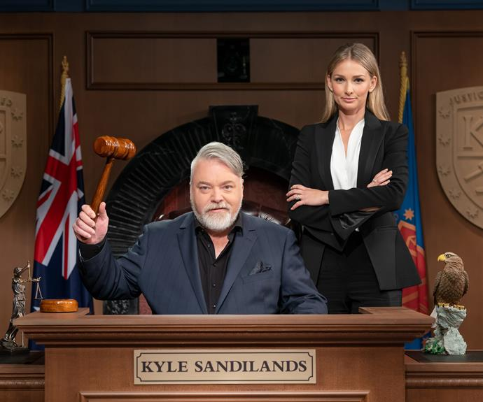 Anna Heinrich On Working With Kyle Sandilands On Trial By