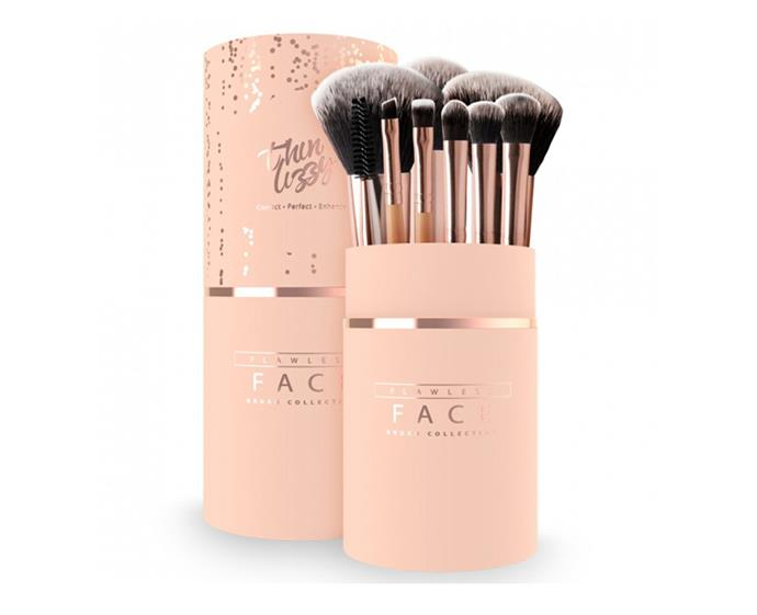 "**Thin Lizzy Flawless Face Brush Collection, $44.99 at [Priceline](https://www.priceline.com.au/brand/thin-lizzy/thin-lizzy-flawless-face-brush-collection-10-piece|target=""_blank""