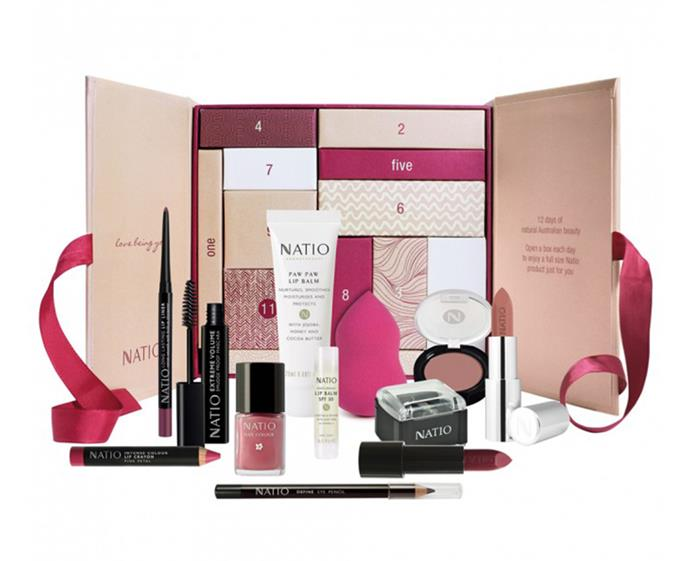 "**Natio 12 Days Gift Box, $79.95 at [Priceline](https://www.priceline.com.au/natio-12-days-gift-box-12-piece|target=""_blank""
