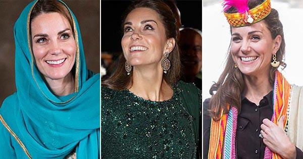 Kate Middleton's Pakistan fashion: All the pics from her fashionable royal tour   Australian Women's Weekly