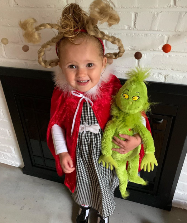 **Cindy Lou Who:** If this little face doesn't inspire you to get your Grinch designing on, nothing will!