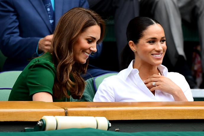 Kate and Meghan reportedly both use Beuti Skincare's facial oil, but the product didn't come to their attention in the way you'd expect.