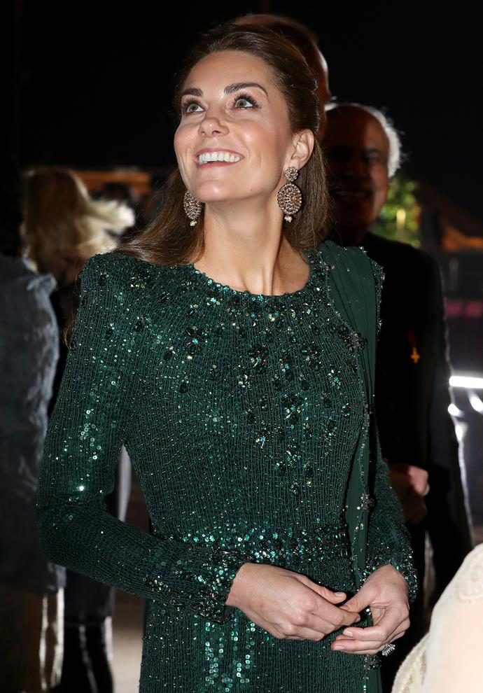 Does this explain the secret behind Kate's enviable glowing skin?
